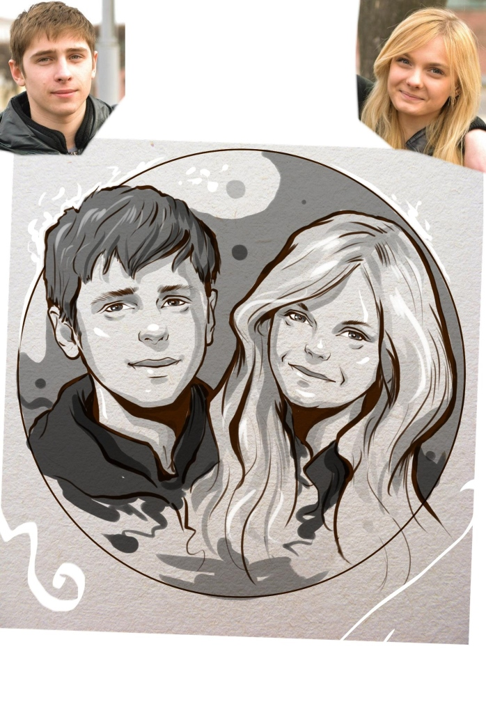 Заказать портрет на годовщину свадьбы в Ульяновске