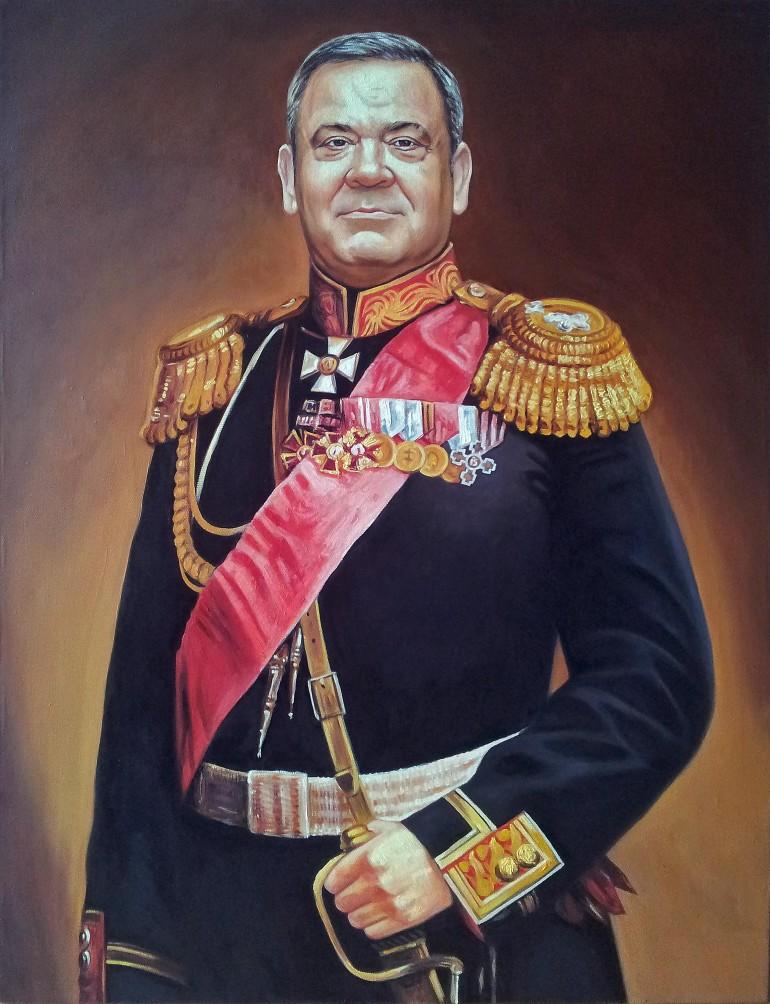 Где заказать портрет маслом в Ульяновске?