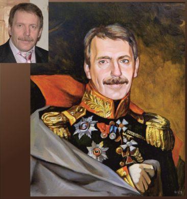Настоящий портрет маслом на заказ в Ульяновске…