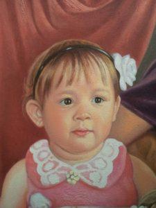 Портрет маслом семейный