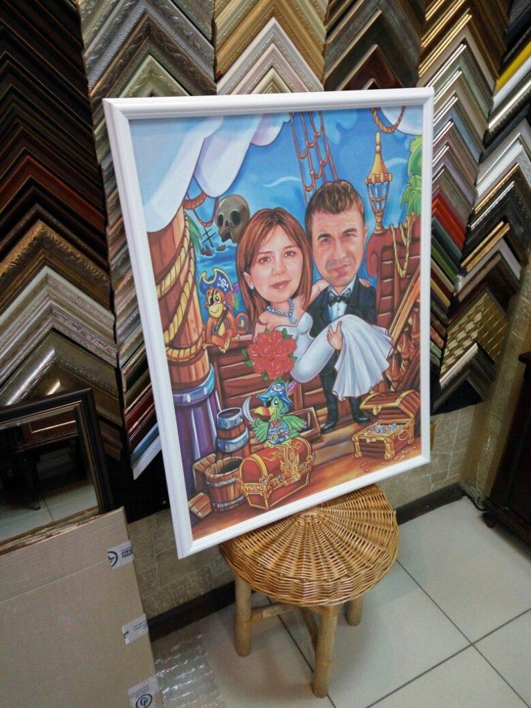 портрет шарж на заказ в ульяновске