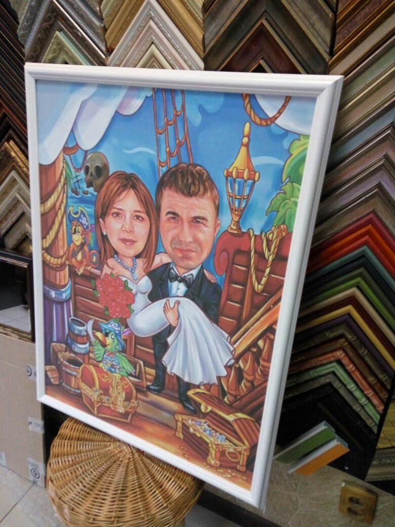 шарж по фото на заказ в ульяновске