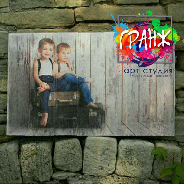 Картины на досках и портреты на дереве в стиле лофт на заказ купить Ульяновск