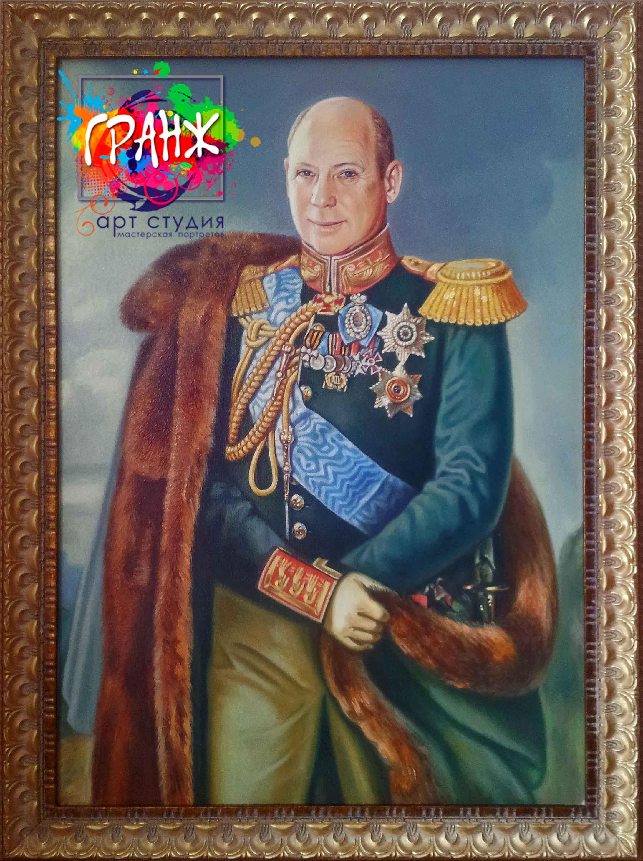 Заказать портрет маслом по фотографии в Ульяновске