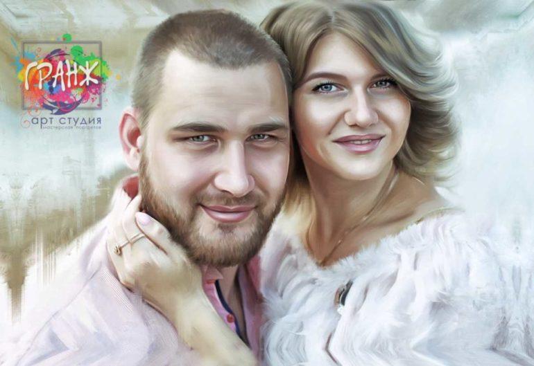 Где заказать портрет по фотографии на холсте в Ульяновске?