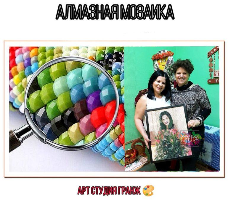 Заказать алмазную мозаику по фото с доставкой в Ульяновске